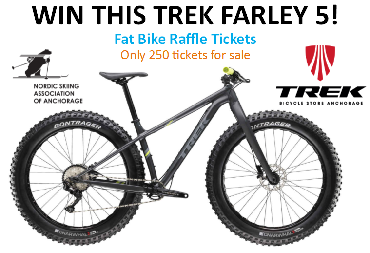 $25 for a chance to WIN Trek Farley 5 Fat Bike!? Tickets on