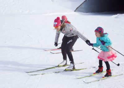 Sadie Bjornson passing on the joy of skiing- Mason Wick