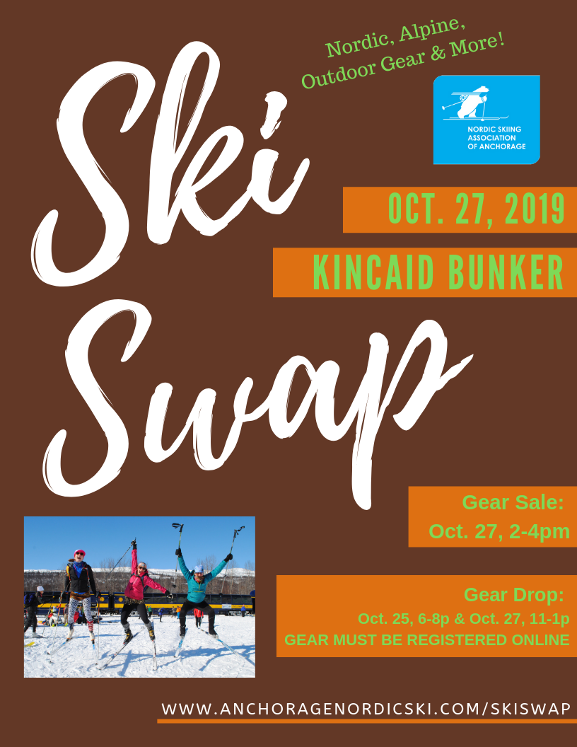 2019 NSAA Ski Swap – Save the Date!