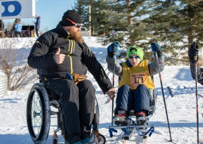 Know no limits; 2019 Ski 4 Kids by Jen Aist