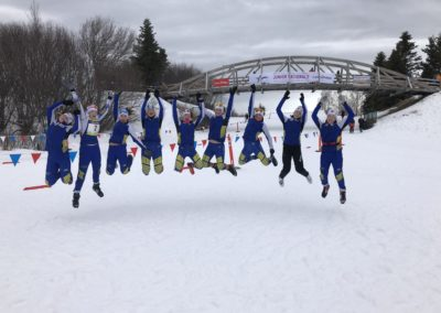 3rd Place Jumping: U16 Team Alaska girls … Jumping! by Shannon Donley
