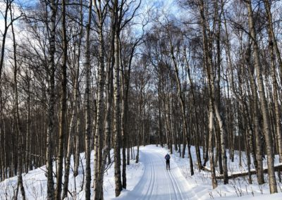 3rd Place Groomed Trail: Lake Loop, Kincaid by Kathleen Metcalfe
